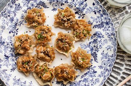 Photo de la recette de Coupelles de porc à l'asiatique