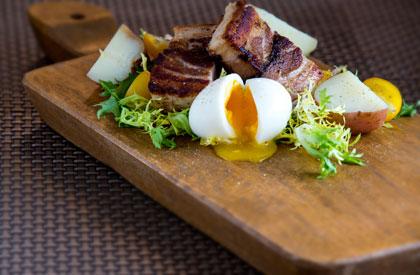 Photo de la recette de Flanc de porc confit aux épices cajuns
