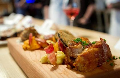 Photo de la recette de Déclinaison éclatée du porc du Québec