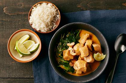 Photo de la recette de Mijoté de porc cari-coco