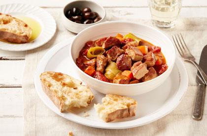Photo de la recette de Porc à la provençale