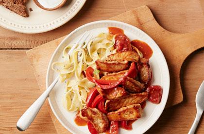 Photo de la recette de Sauté de porc paprikash