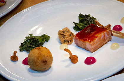 Photo de la recette de Flanc de porc Nagano laqué