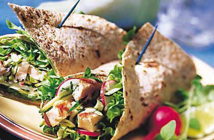 Photo de la recette de Sandwich roulé de porc à la rémoulade