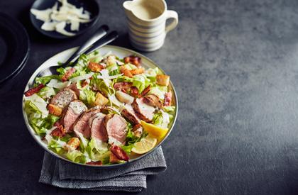 Photo de la recette de Salade césar au porc grillé