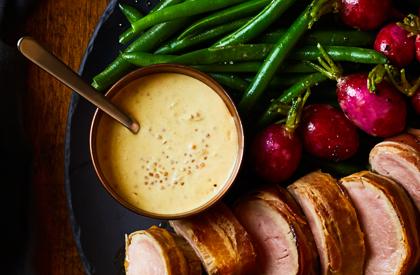 Photo de la recette de Sauce moutarde