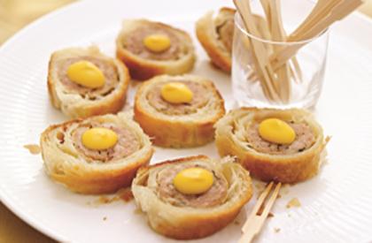 Photo de la recette de Saucisses en croûte