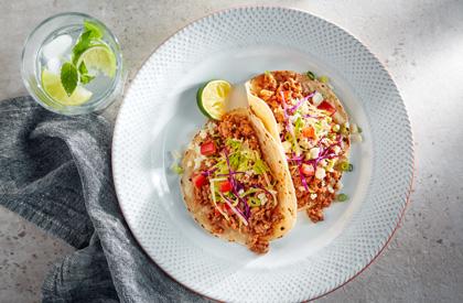 Photo de la recette de Tacos de porc