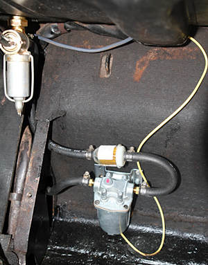 placement of pump & wiring
