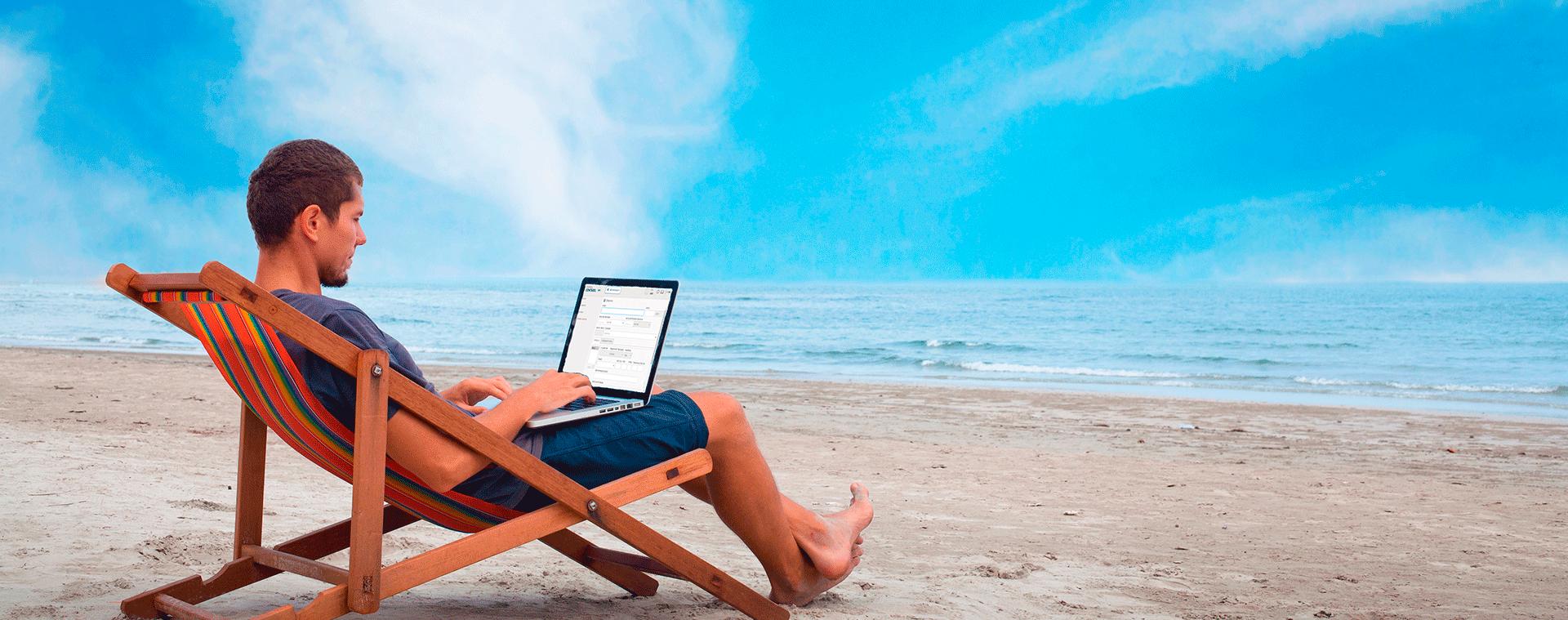 Já imaginou seu escritório contábil em qualquer lugar?