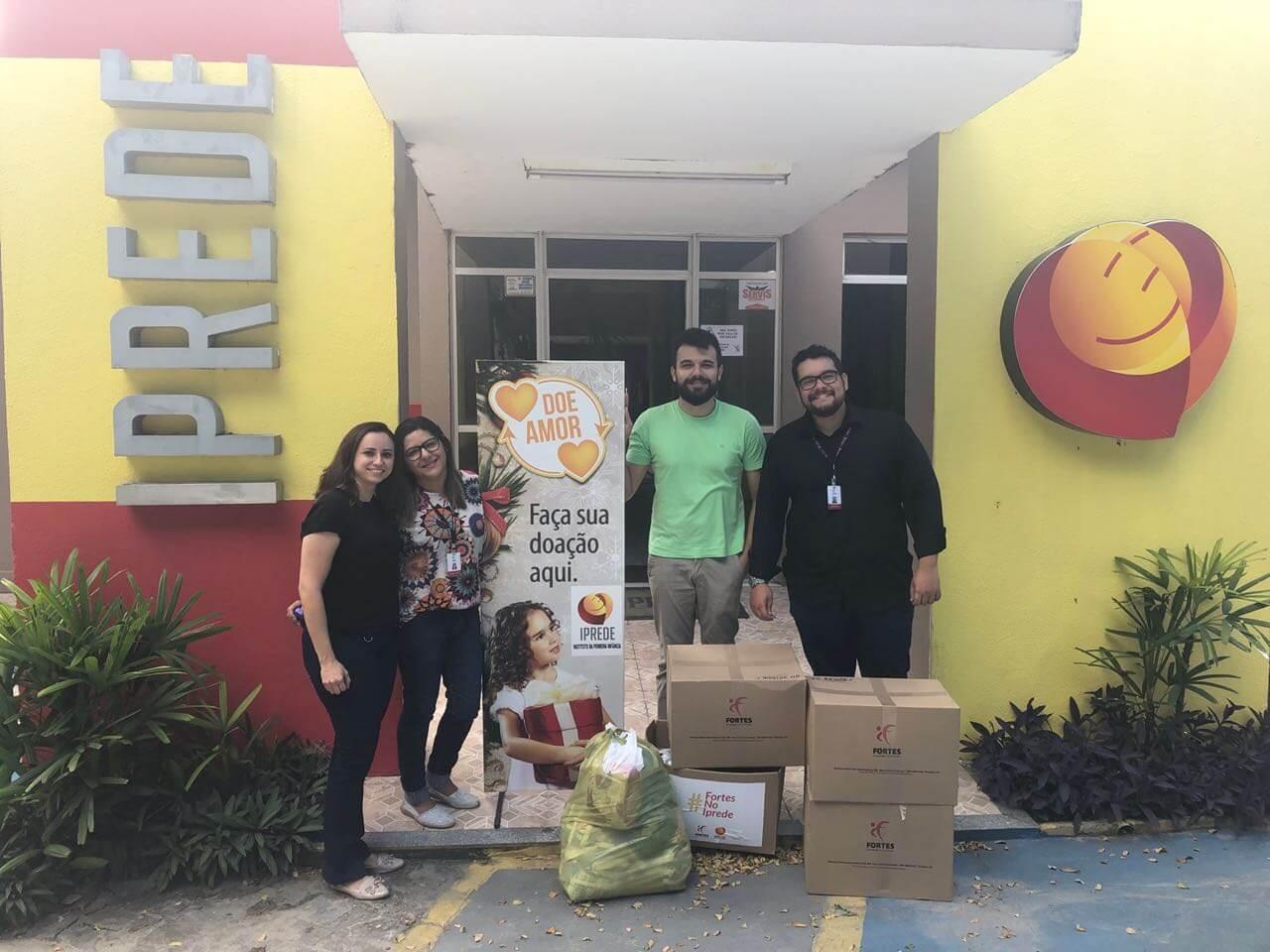 Projeto #JuntosSomosFortes: Fortes Tecnologia realiza doações em instituições do Ceará 1