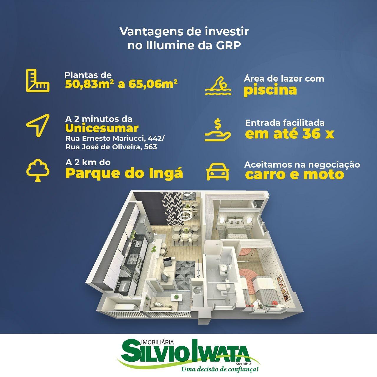 Apartamento à venda em Maringá - PR ,  Jd Aclimação