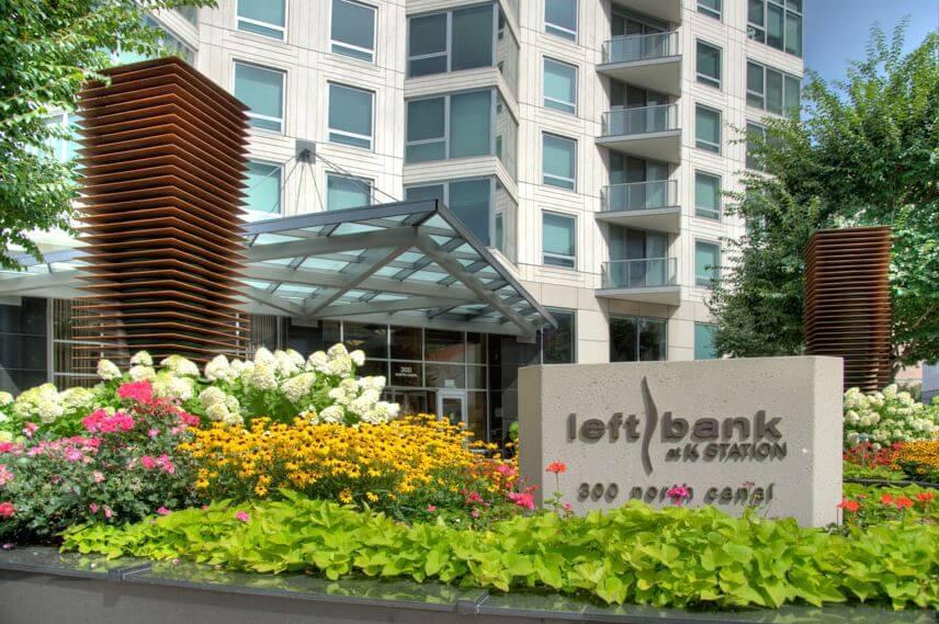 Best website to find rentals Chicago - Left Bank at K Station