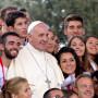 Papa Francisco com Jovens