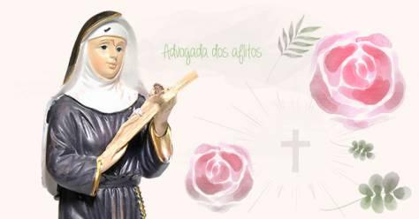 Santa Rita De Cássia O Que é Impossível Aos Homens é Possível A