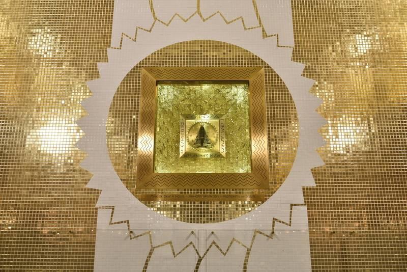 O Nicho de Nossa Senhora pode ser visto ao vivo por dois ângulos, um aberto e outro mais fechado,  focado na Imagem da Mãe Aparecida.