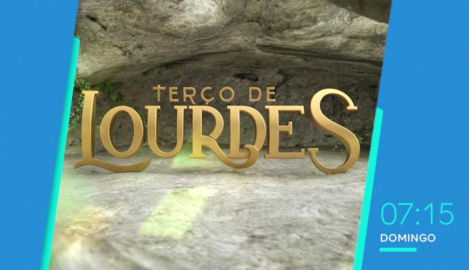 TV Aparecida - Terço de Lourdes (Criação TV Aparecida)