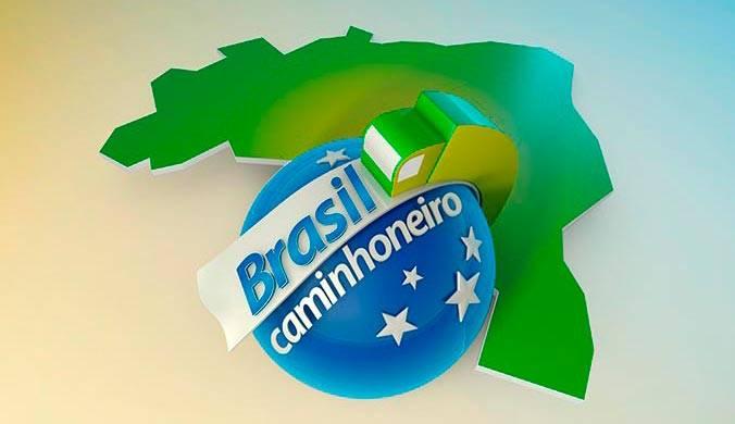 logotipo programa brasil caminhoneiro