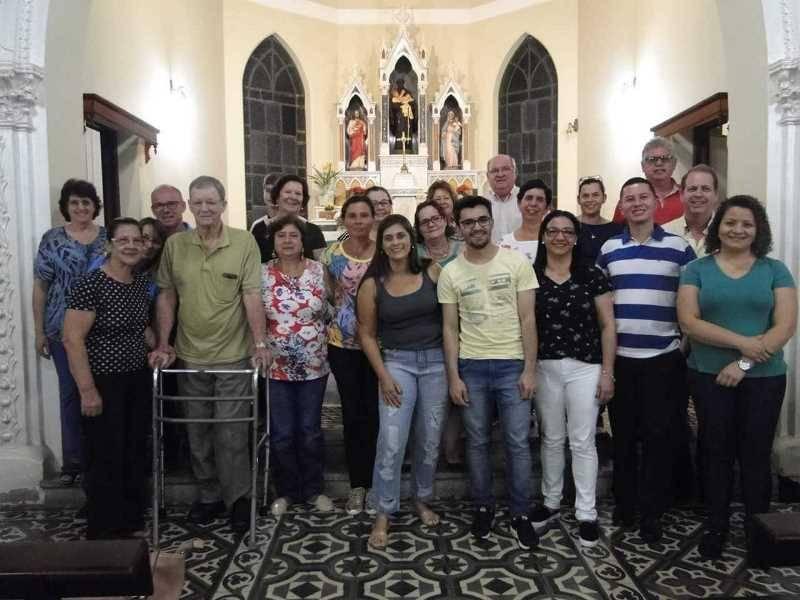 Junto com a comunidade local, jovens leigos redentorista preparam Ação Jovem para o ano de 2019.