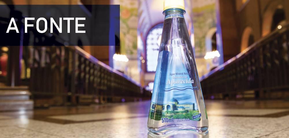 A fonte - Água mineral Santuário de Aparecida