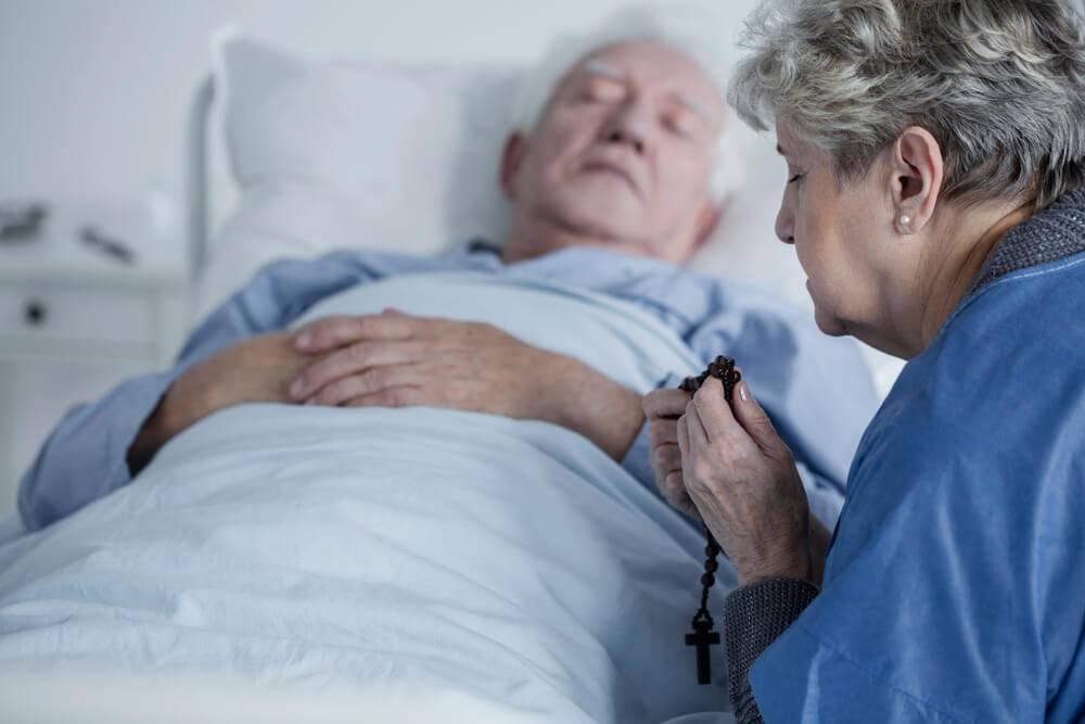 Só as pessoas que estão no leito de morte podem receber a Unção dos Enfermos?