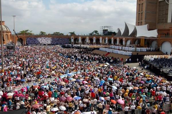 Visita do Papa Bento XVI ao Santuário