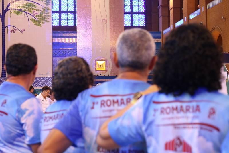 Romarias que visitaram o Santuário nos dias 19 e 20 de janeiro de 2019.