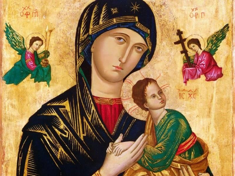 3 pedidos de São João Paulo a Nossa Senhora do Perpétuo Socorro