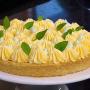 Sablé Breton de limão e manjericão
