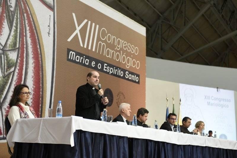 Momentos do XIII Congresso Mariológico em Aparecida