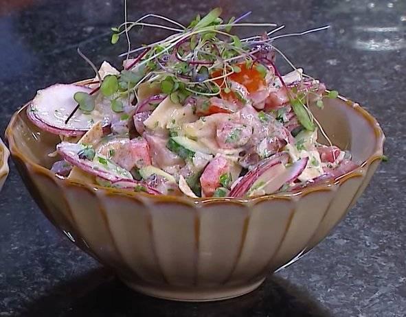 Salada fatouche