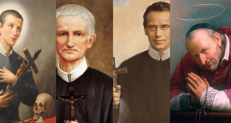 Na sequência: São Geraldo, beatos Pedro Donders e Francisco Seelos, e Santo Afonso.