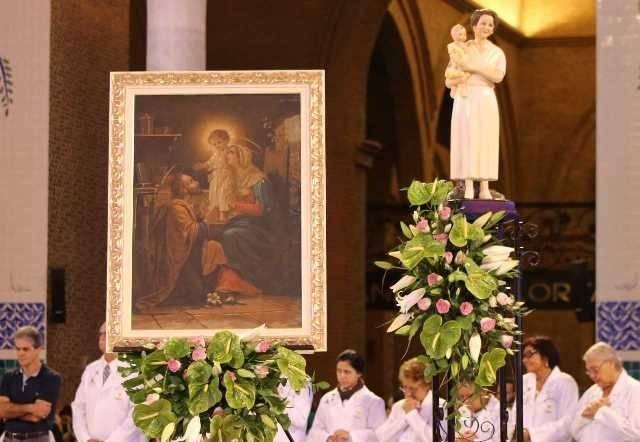 Romaria reuni milhares de famílias no Santuário Nacional.