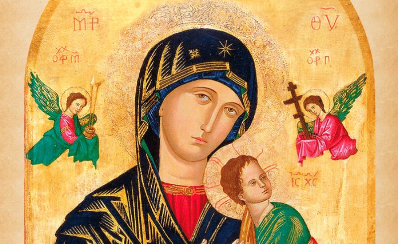 Conheça a simbologia do Ícone de Nossa Senhora do Perpétuo Socorro