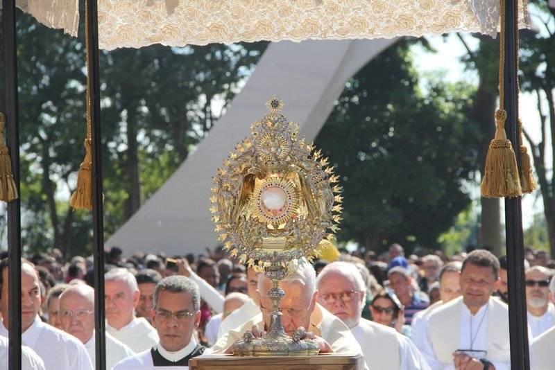 Confira os horários das celebrações de Corpus Christi
