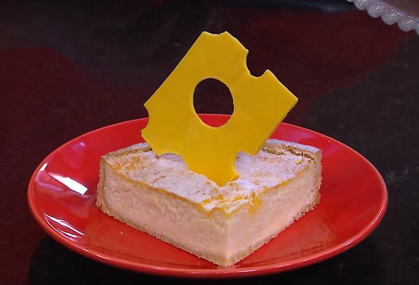 Torta de queijo por Fernando de Oliveira