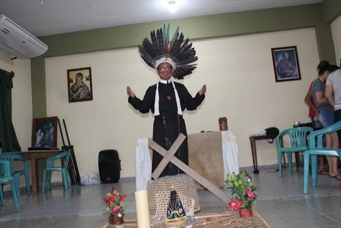 Frater Valdir é descendente do Povo Dessana, tribo indígena do Amazonas.