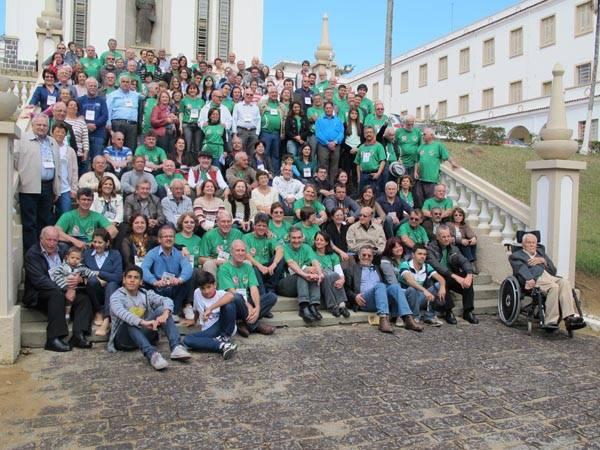 Já é tradição! O encontro da UNESER acontece anualmente no Seminário Santo AFonso.