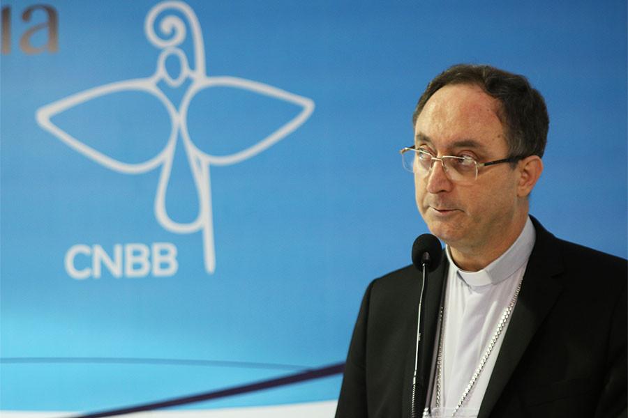 Arcebispo de Brasília (DF) e presidente da CNBB, Dom Sergio da Rocha.