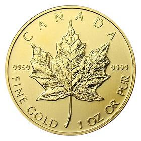 Gold Maple Leaf 1oz