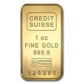 Gold 1oz Bar
