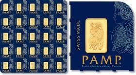 Gold PAMP MultiGram 25g Bar
