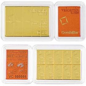 Gold Valcambi CombiBar 1oz