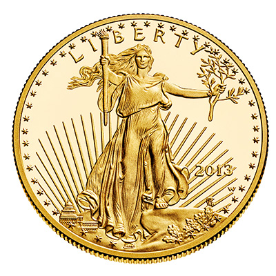 Gold American Eagle (1 oz) Coin