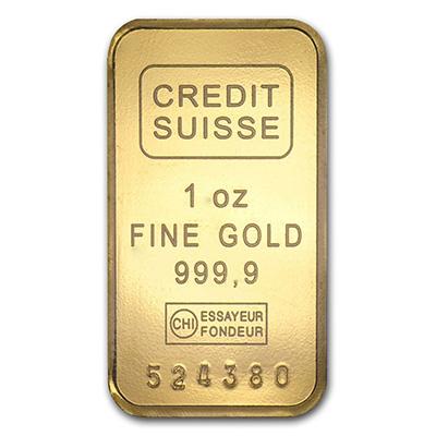 Gold 1 oz Bar