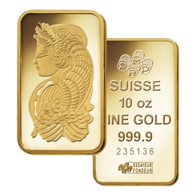 Gold 10 oz Bar