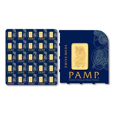 Gold 25 g PAMP MultiGram