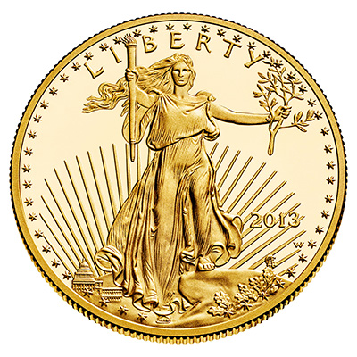 Gold American Eagle (1 oz) Coin