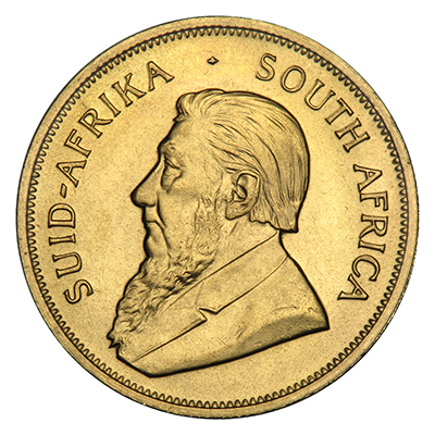 Gold South African Krugerrand (1 oz) Coin