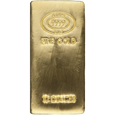 Gold 10 oz Bar